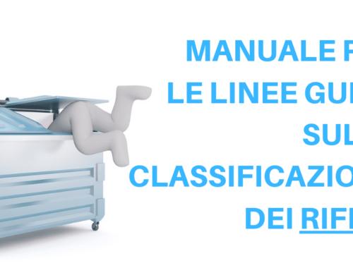 classificazione rifiuti linee guida