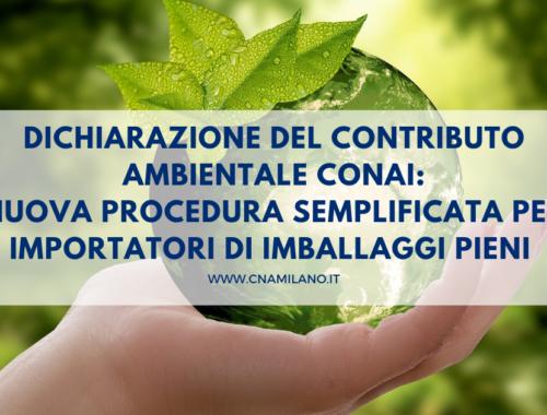 dichiarazione del contributo ambientale conai